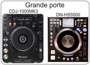 CDJ-1000MK3 & DN-HS550
