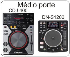 CDJ-400 & DN-S1200