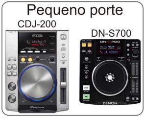 Pioneer CDJ-200 & Denon DN-S700