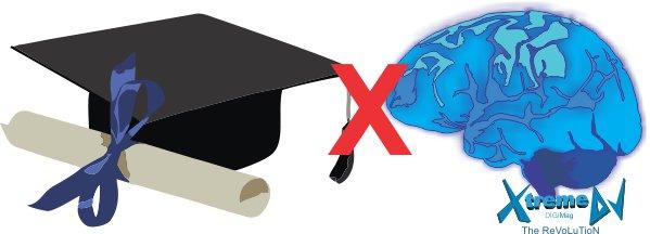 Cérebro - Conhecimento e habilidade versus o certificado