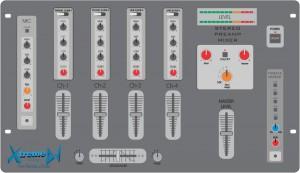 Principais recursos e funções Mixers profissionais para DJs - Modelo 04