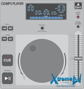 CD/MP3 Player profissional para DJs