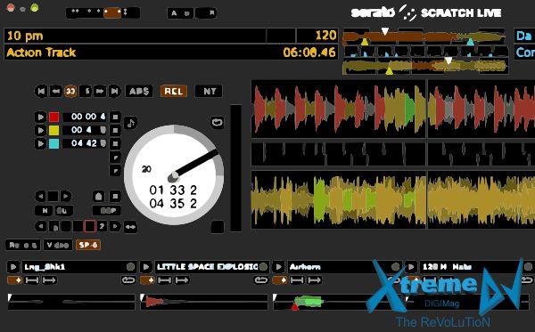 Serato Scratch Live - software para DJs