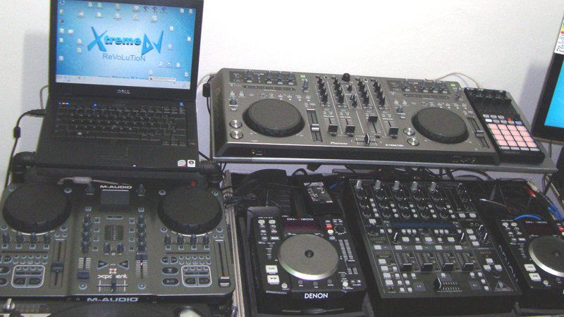 Super workstation para DJs