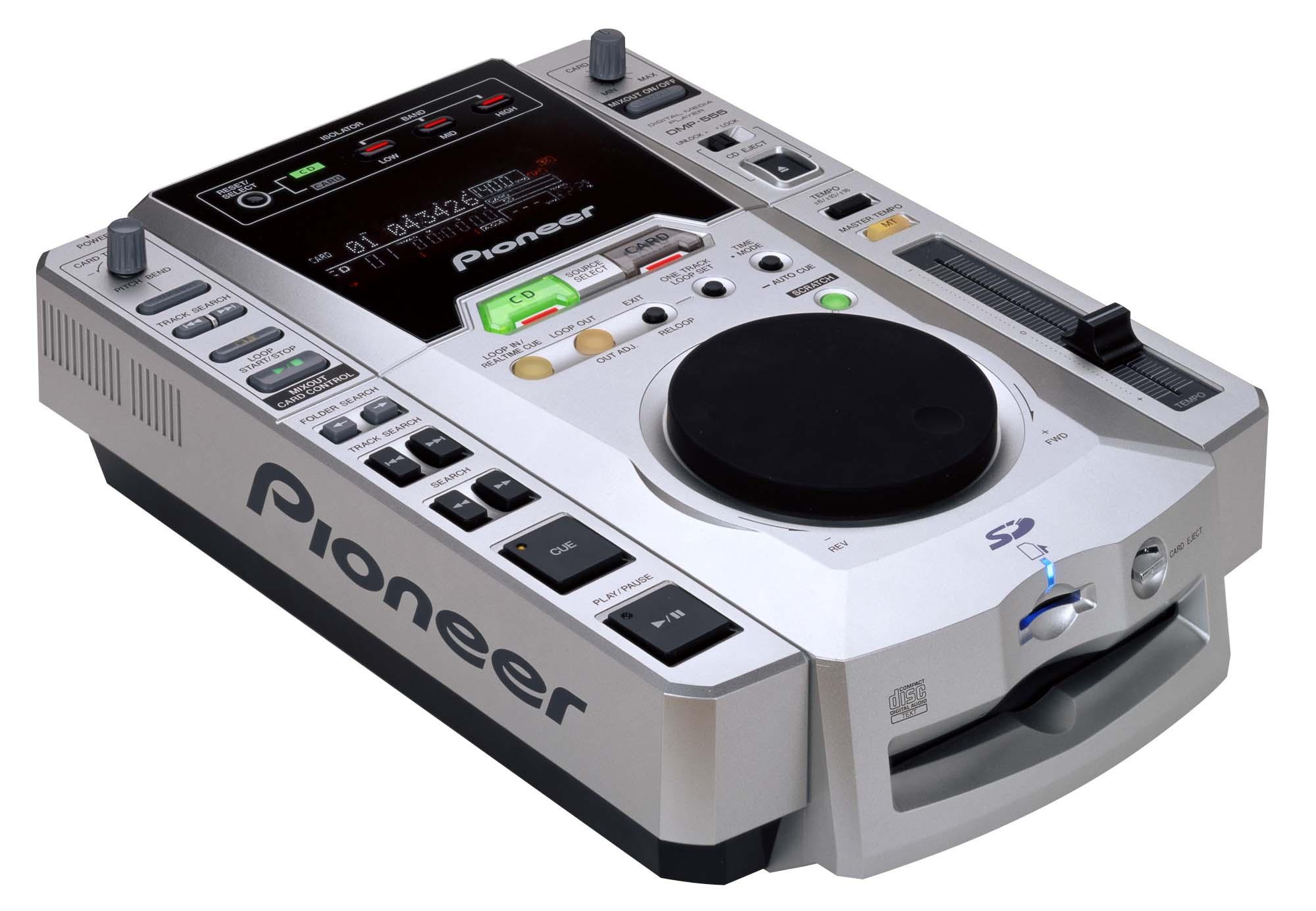 Pioneer DMP-555 - Equipamento para DJs