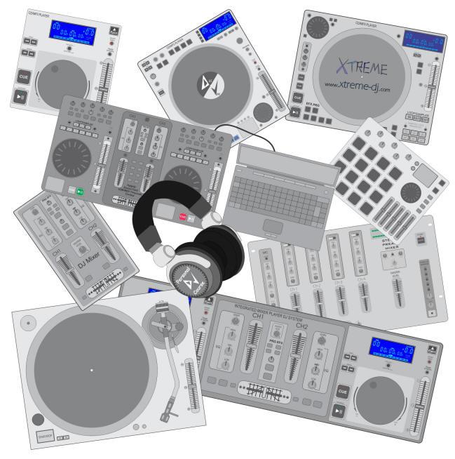 Equipamentos para DJs