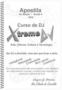 4ª edição da apostila do curso de DJ Xtreme - Capa da apostila