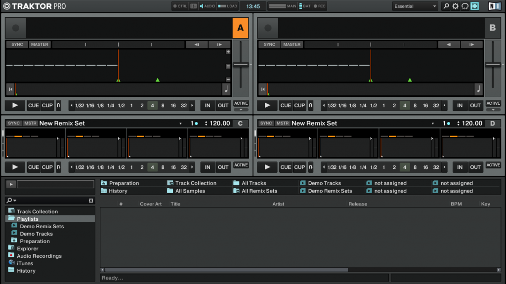 Traktor 2.6 layout essential