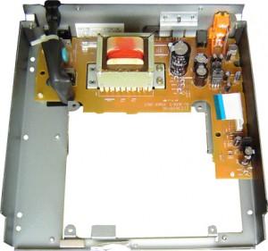 DN-S1000 parte inferior aberta