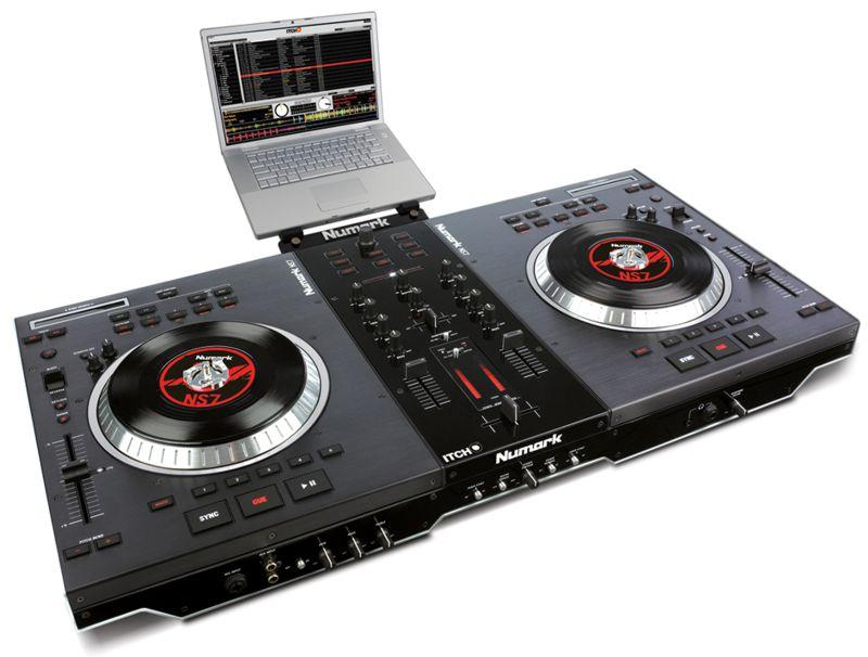 Numark NS7 controlador profissional para DJs