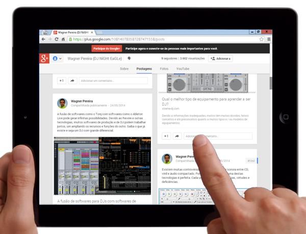 Tablet, uma poderosa ferramenta para ampliar o potencial profissional.