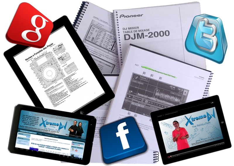tablets-redes-sociais-twitter-google-plus-facebook-tutoriais-apostilas