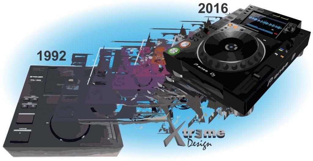 Tecnologias e equipamentos para DJs ( Toca-discos, CD / MP3 Players, Mixers )