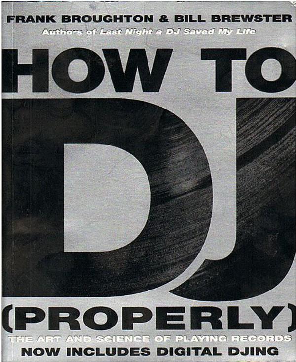Livro para DJs properly como ser DJ de forma adequada