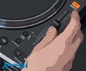 Habilidades ligadas aos controles de velocidade e o domínio da arte dos DJs