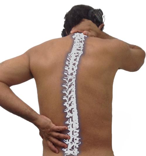 Problemas na coluna vertebral