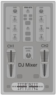 Mixer 02 canais