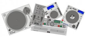 Introdução geral a série Controles, recursos e funções dos equipamentos para DJs