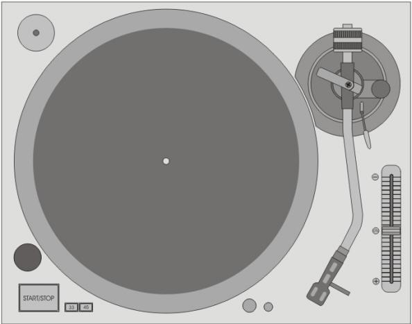 Toca-discos DJs