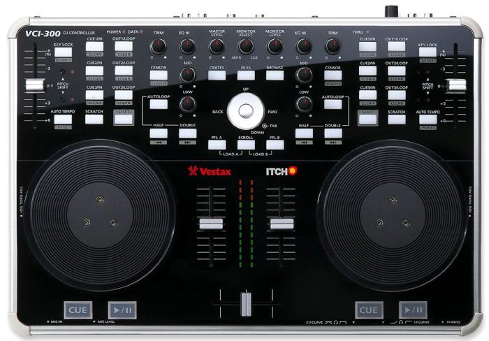 Controlador profissional para DJs Vestax VCI 300
