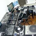 Panorâmica do lado esquerdo do estúdio Xtreme DJ