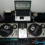Parte 3 dos equipamentos do lado direito do estúdio Xtreme DJ