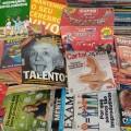 Algumas revistas especiais (Exame, Época, Superinteressante, Carta Capital, Galileu, Isto É, Veja)